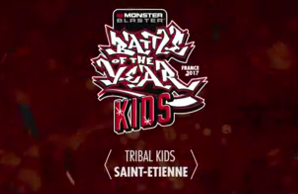 Les Tribal Kids au Battle of The Year