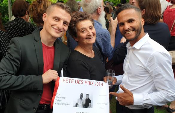 Lauréats Prix  SACD Nouveau Talent Chorégraphie et Dispositif Écrire pour la rue